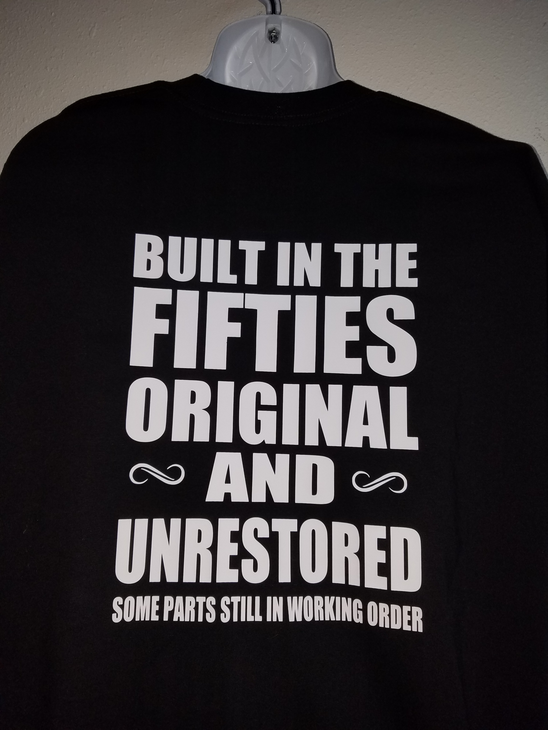 Built In The Fifties Gray Pride T Shirt